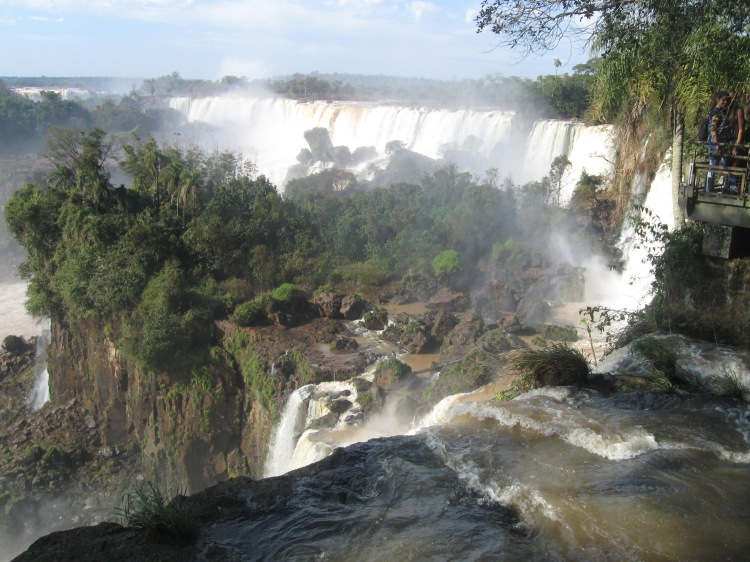 Iguazu Falls - Upper Trail